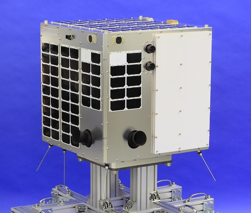 Figure 7: The WNISAT-1R microsatellite to be launched in 2017