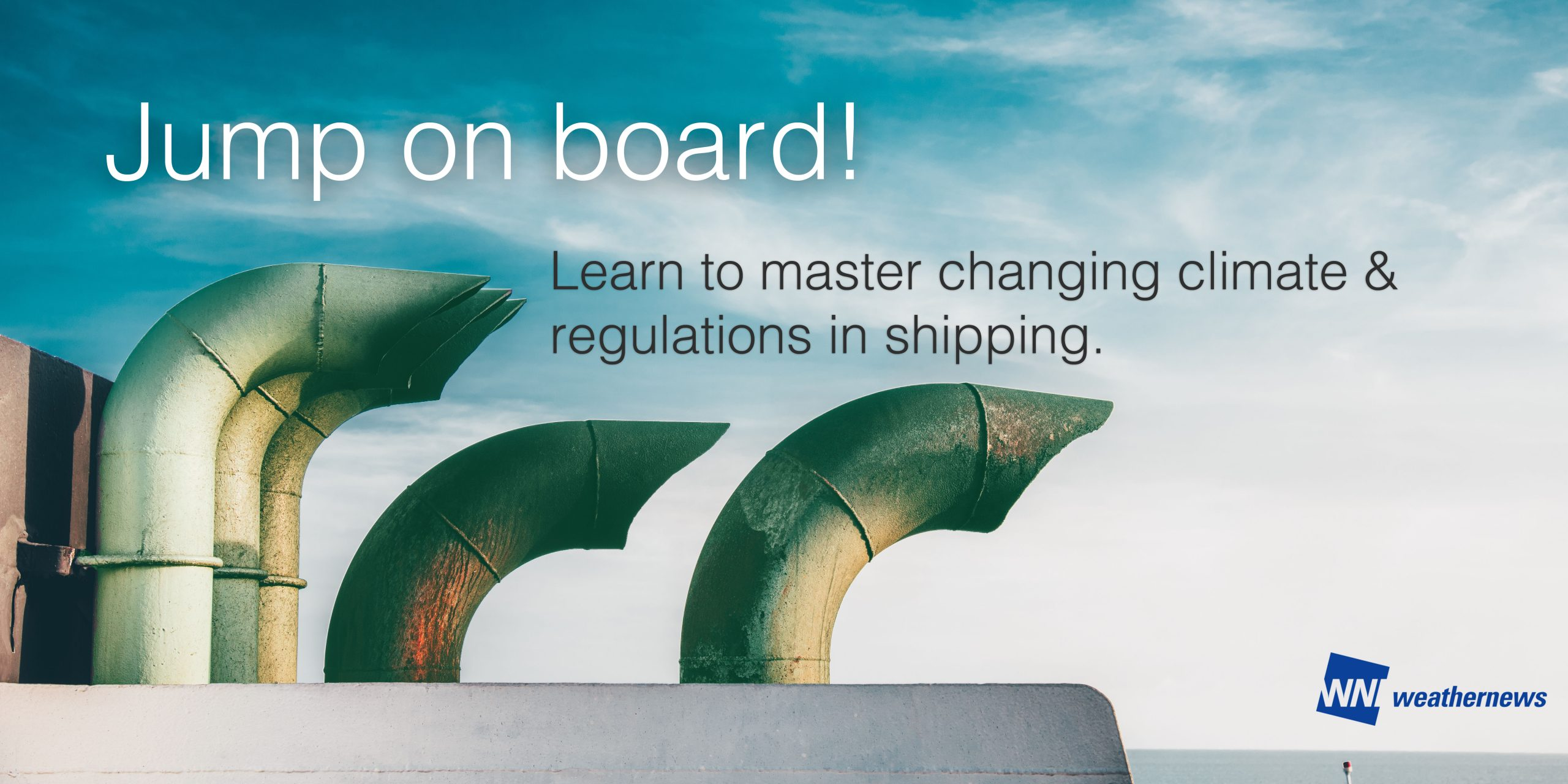 Webinar about sustainability in shipping